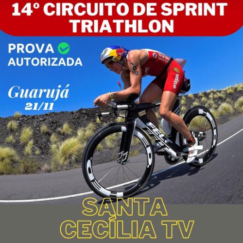 14º CIRCUITO DE SPRINT DE TRIATHLON SANTA CECÍLIA TV - 4ª ETAPA