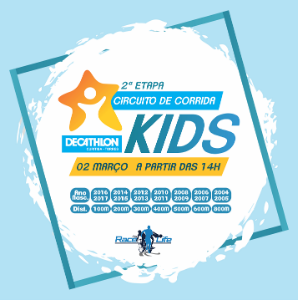 2ª etapa do CIRCUITO DE CORRIDA KIDS  DECATHLON