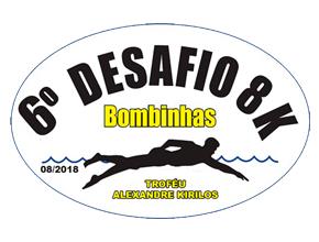 6º DESAFIO DE NATAÇÃO BOMBINHAS 8KM