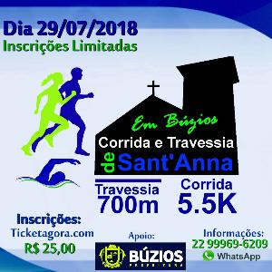 Corrida e Travessia de Sant' Anna Búzios 2018