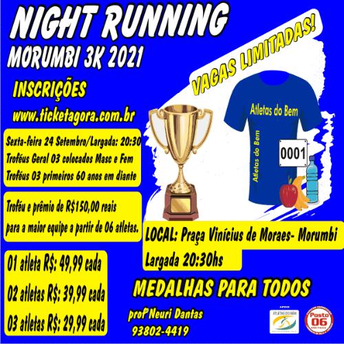 NIGHT RUNNING MORUMBI -2021