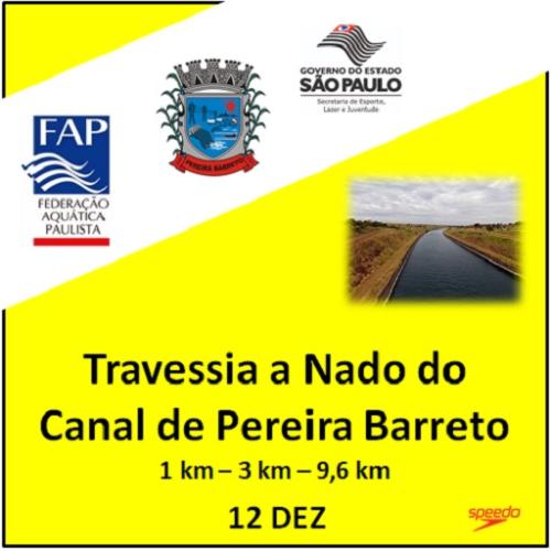 TRAVESSIA A NADO DO CANAL DE PEREIRA BARRETO