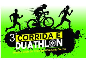 3ª CORRIDA 5K ROTARY CLUB CIANORTE CINTURÃO VERDE E DUATHLON