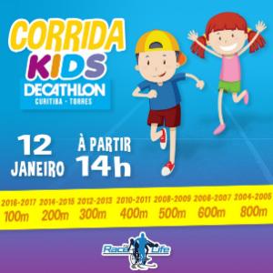 CORRIDA KIDS DECATHLON 2019 - 1ª ETAPA