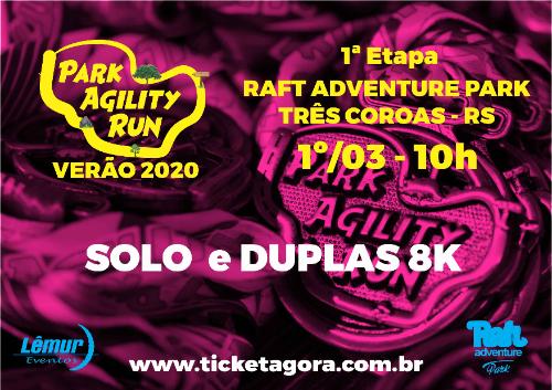 PARK AGILITY RUN VERÃO 2020 - 1ª ETAPA TRÊS COROAS