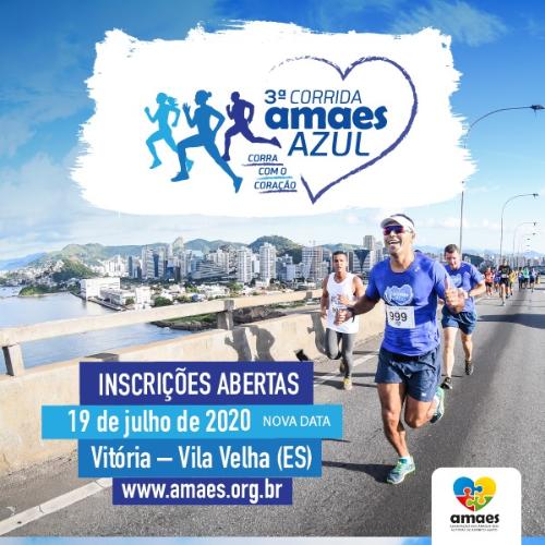 3ª CORRIDA AMAES AZUL - Corra com o Coração