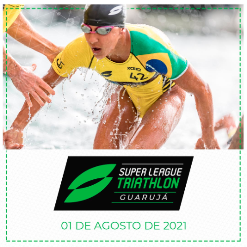 SUPER LEAGUE TRIATHLON - GUARUJÁ - 01AGO2021