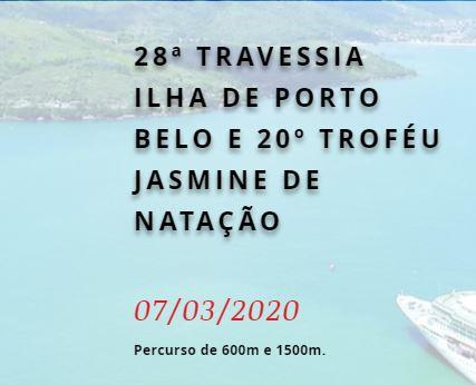 28ª TRAVESSIA ILHA DE PORTO BELO E 20º TROFÉU JASMINE DE NATAÇÃO