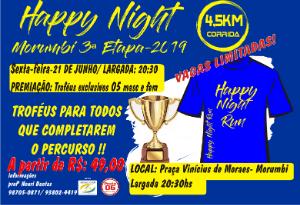 HAPPY NIGHT RUNNING MORUMBI 2019- 3ª ETAPA