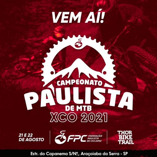 CAMPEONATO PAULISTA DE MOUNTAIN BIKE XCO 2021