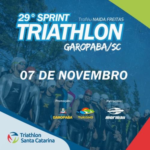 29º SPRINT TRIATHLON DE GAROPABA - TROFÉU NAIDA FREITAS