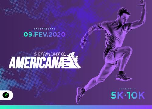 5ª CORRIDA CIDADE DE AMERICANA - 2020