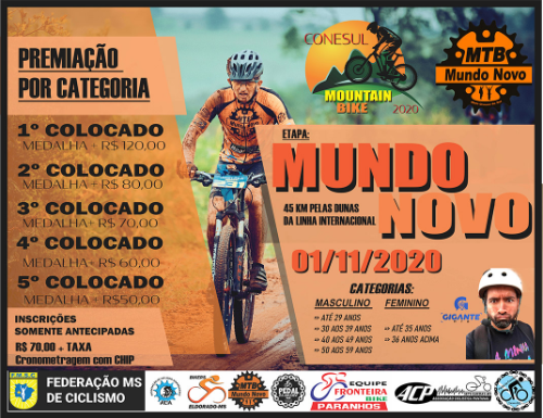 CONESUL MOUNTAIN BIKE 2020