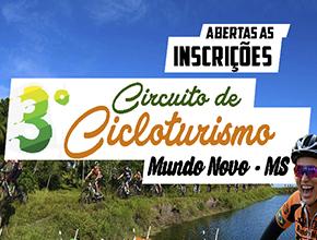 3º CICLOTURISMO DE MUNDO NOVO - MS