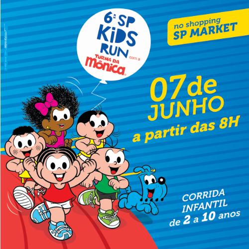 6ª SP KIDS RUN COM A TURMA DA MÔNICA