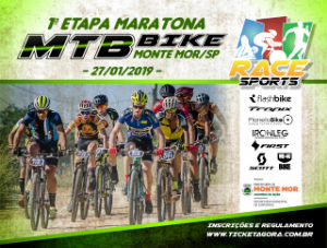 1ª ETAPA - MARATONA DE MOUNTAIN BIKE RACE SPORTS - MONTE MOR