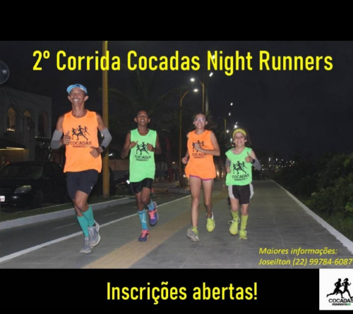 2ª CORRIDA COCADA NIGHT RUN
