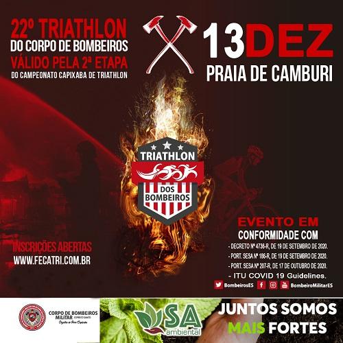 22º TRIATHLON DO CORPO DE BOMBEIROS MILITAR