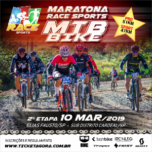 2 ETAPA MARATONA DE MTB BIKE RACE SPORTS ELIAS FAUSTO SP