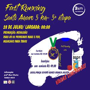 FAST RUNNING SANTO AMARO- 5ª ETAPA
