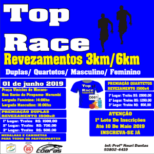 TOP RACE- REVEZAMENTOS