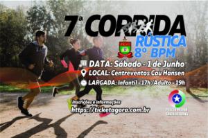 CORRIDA E CAMINHADA RÚSTICA 8º BPM 2019 7ªEdição
