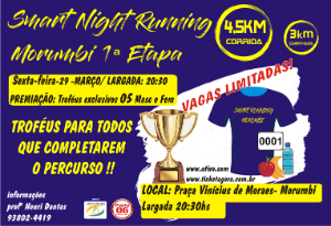 SMART NIGHT RUNNING MORUMBI 1ª ETAPA - 2019