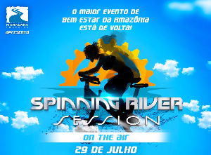 SPINNING RIVER SESSION ON THE AIR