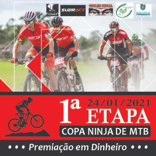 1ª ETAPA COPA NINJA DE MTB - 2021
