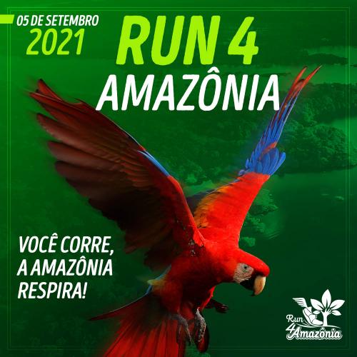 RUN 4 AMAZÔNIA - DESAFIO PELA AMAZÔNIA