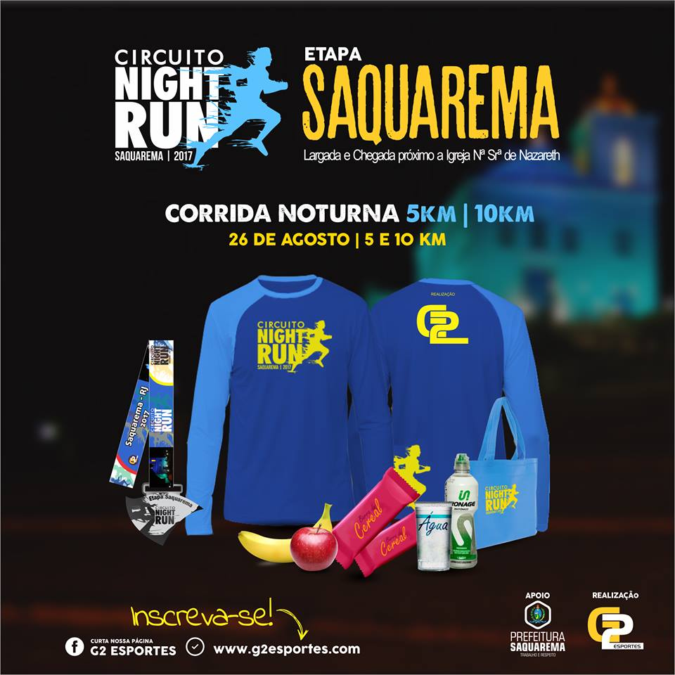 Circuito Night Run : Circuito night run lagos etapa saquarema