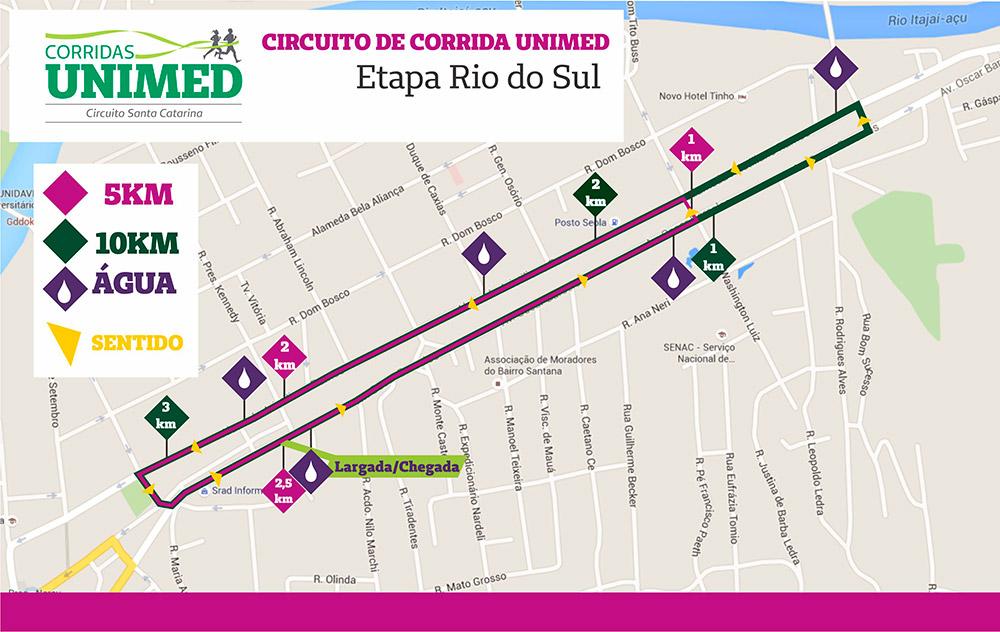 Circuito Unimed : Corridas unimed circuito santa catarina etapa rio