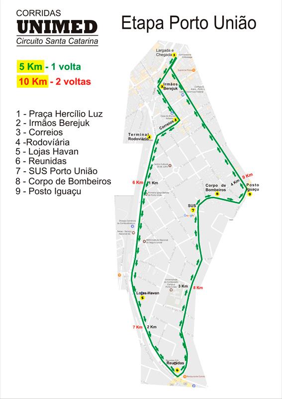 Circuito Unimed 2018 : Corridas unimed circuito santa catarina etapa porto