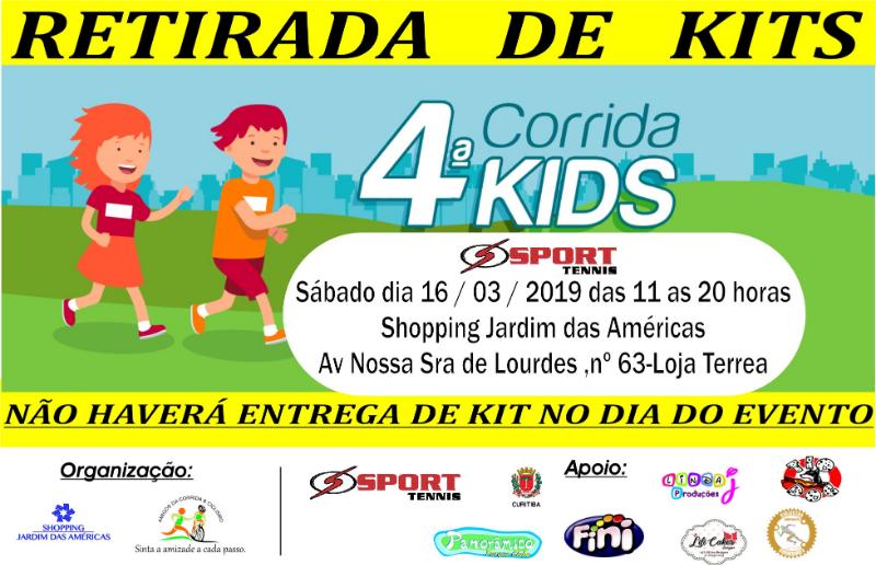 a4aeed7b43b 4ª CORRIDA KIDS - SHOPPING JARDIM DAS AMÉRICAS
