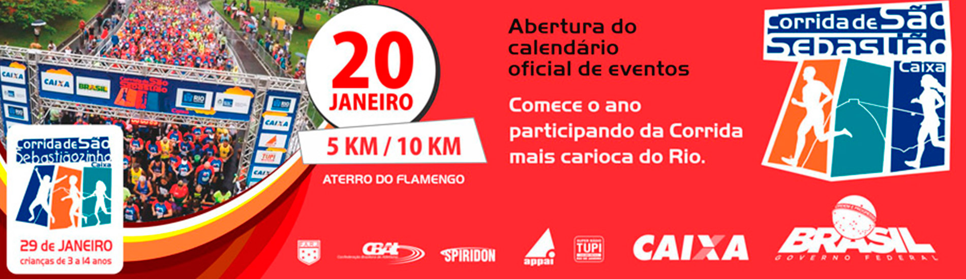CORRIDA DE SÃO SEBASTIÃO CAIXA 2017 - Imagem de topo