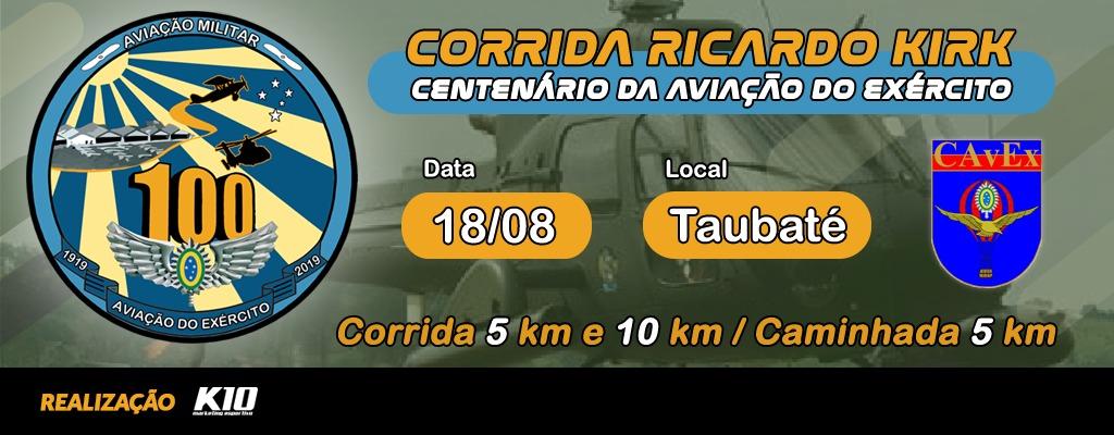 CORRIDA RICARDO KIRK- 100 ANOS DA AVIAÇÃO MILITAR DO EXÉRCITO