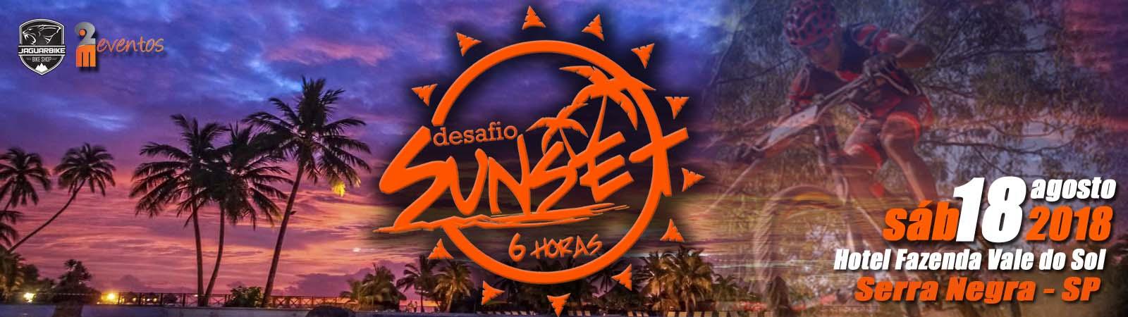 DESAFIO SUNSET 6 HORAS MTB - Imagem de topo