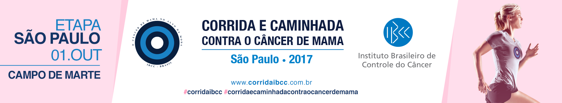 56ª CORRIDA E CAMINHADA CONTRA O CÂNCER DE MAMA - Imagem de topo