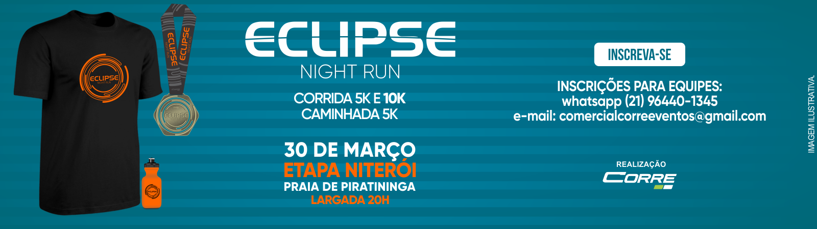 ECLIPSE NIGHT RUN - ETAPA PRAIA DE PIRATININGA