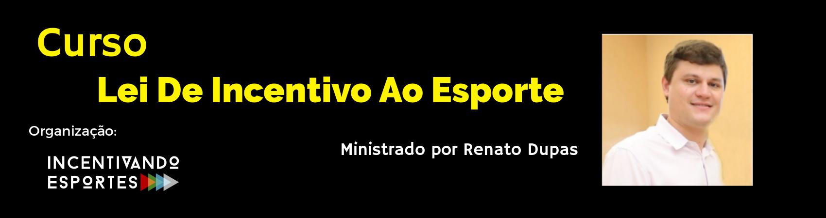CURSO DE LEI DE INCENTIVO AO ESPORTE - Imagem de topo
