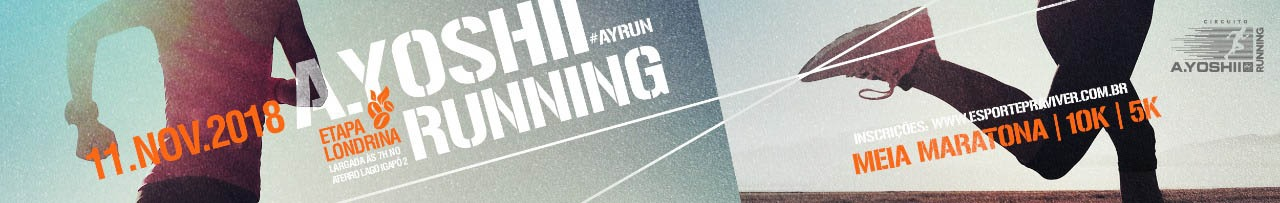 A.YOSHII RUNNING - ETAPA LONDRINA - ATERRO LAGO IGAPÓ 2