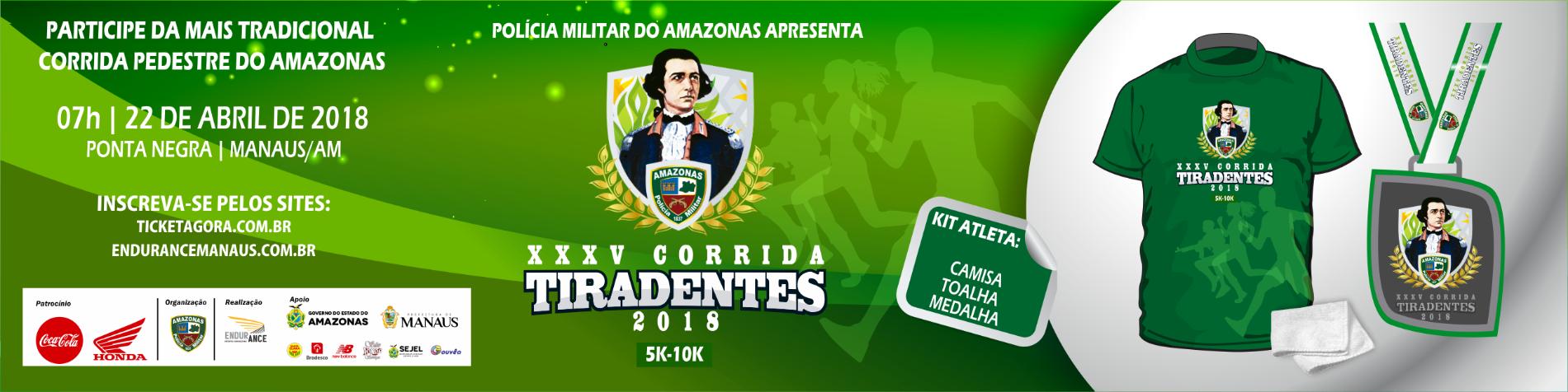 XXXV CORRIDA TIRADENTES - 2018 - Imagem de topo