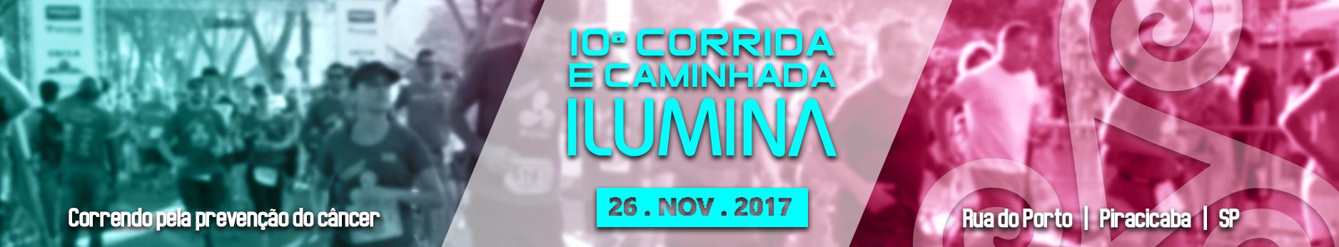 10ª CORRIDA E CAMINHADA ILUMINA - Imagem de topo