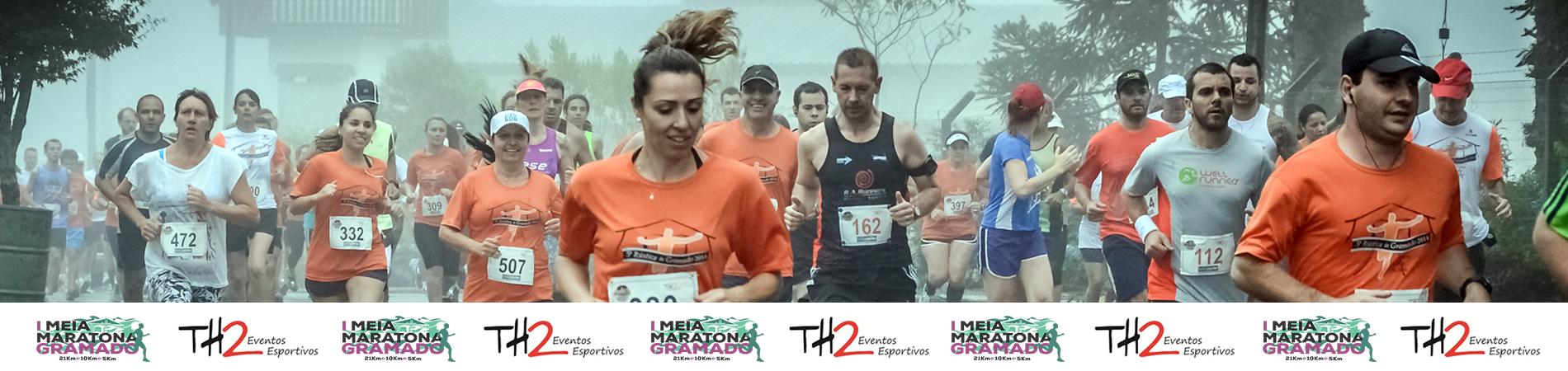 1ª MEIA MARATONA GRAMADO/RS - 2016 - Imagem de topo