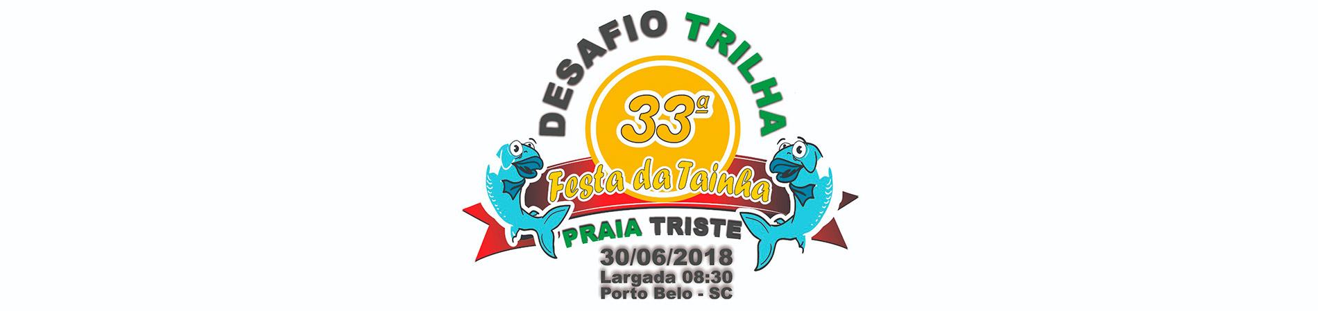 DESAFIO TRILHA DA PRAIA TRISTE - Imagem de topo