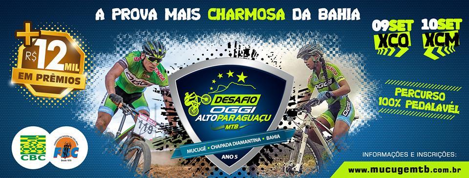 DESAFIO OGGI ALTO PARAGUAÇU MTB E CROSS COUNTRY XCO - Imagem de topo