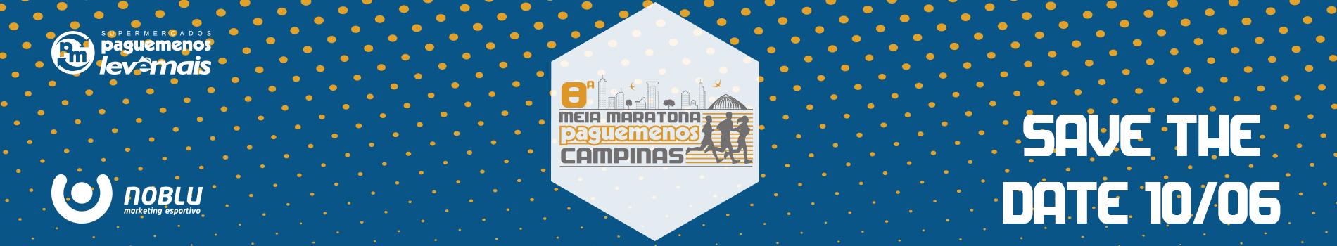 8ª MEIA MARATONA PAGUE MENOS CAMPINAS - Imagem de topo