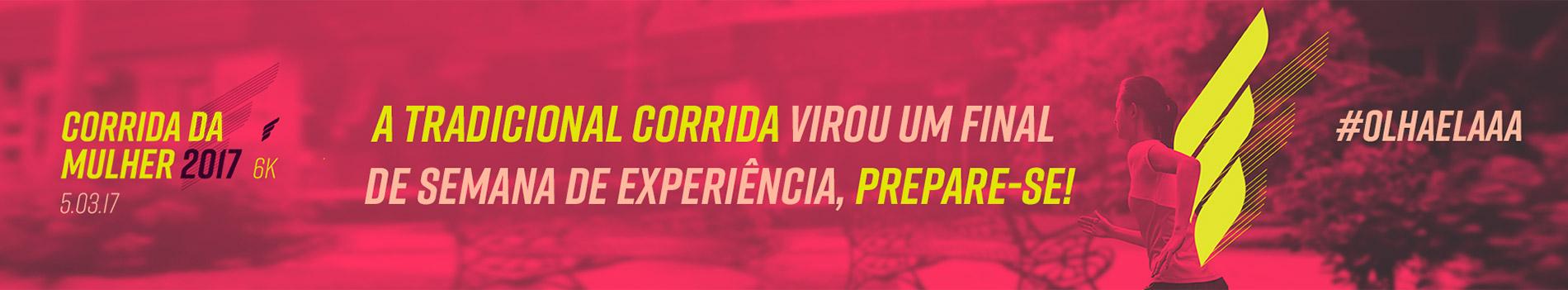 16ª CORRIDA DA MULHER DE CURITIBA - Imagem de topo