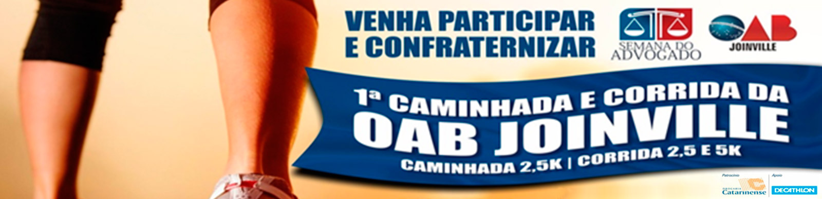 CORRIDA OAB JOINVILLE - Imagem de topo