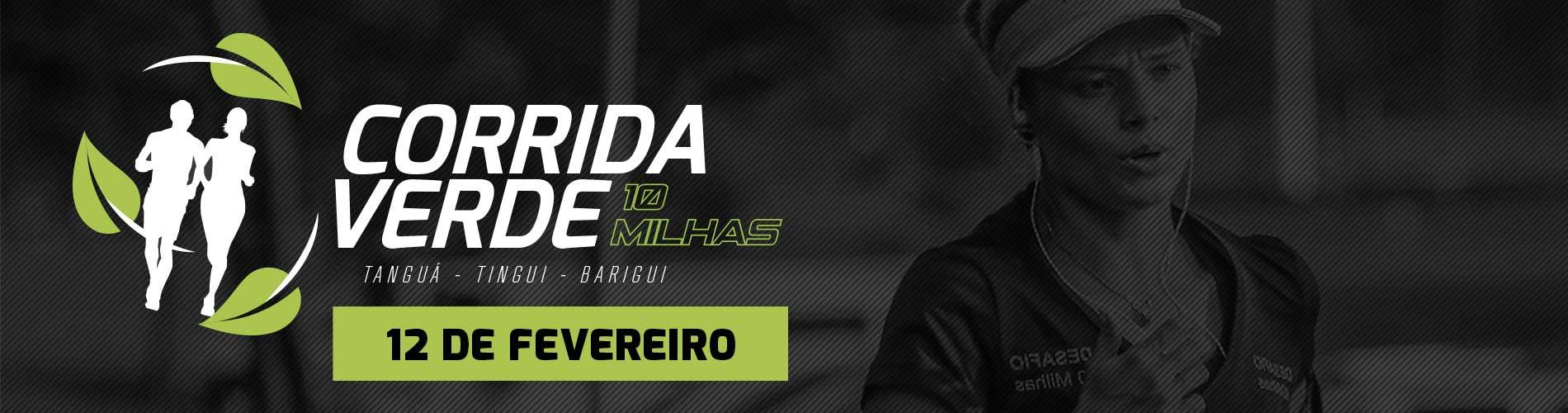 CORRIDA VERDE - DESAFIO 10 MILHAS - 2017